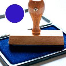 Almohadilla con tinta para los sellos de caucho
