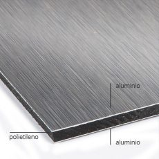 Impresión sobre Dibond Aluminio Cepillado a Buen Precio en Madrid