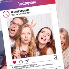 Photocall Marco Instagram Low Cost Personalizado en Madrid