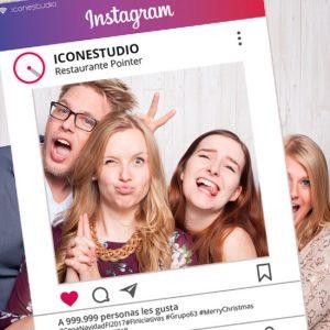 Photocall Marco Instagram Low Cost Personalizado en Madrid