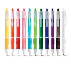 Bolígrafo económico cloud colores