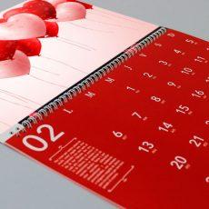 Calendario de pared barato personalizado