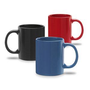 serigrafia de tazas de colores personalizadas
